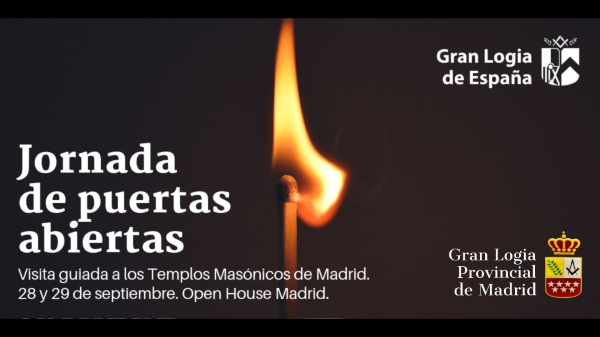 Gran Logia de España abrirá al público general su Templo en Madrid.