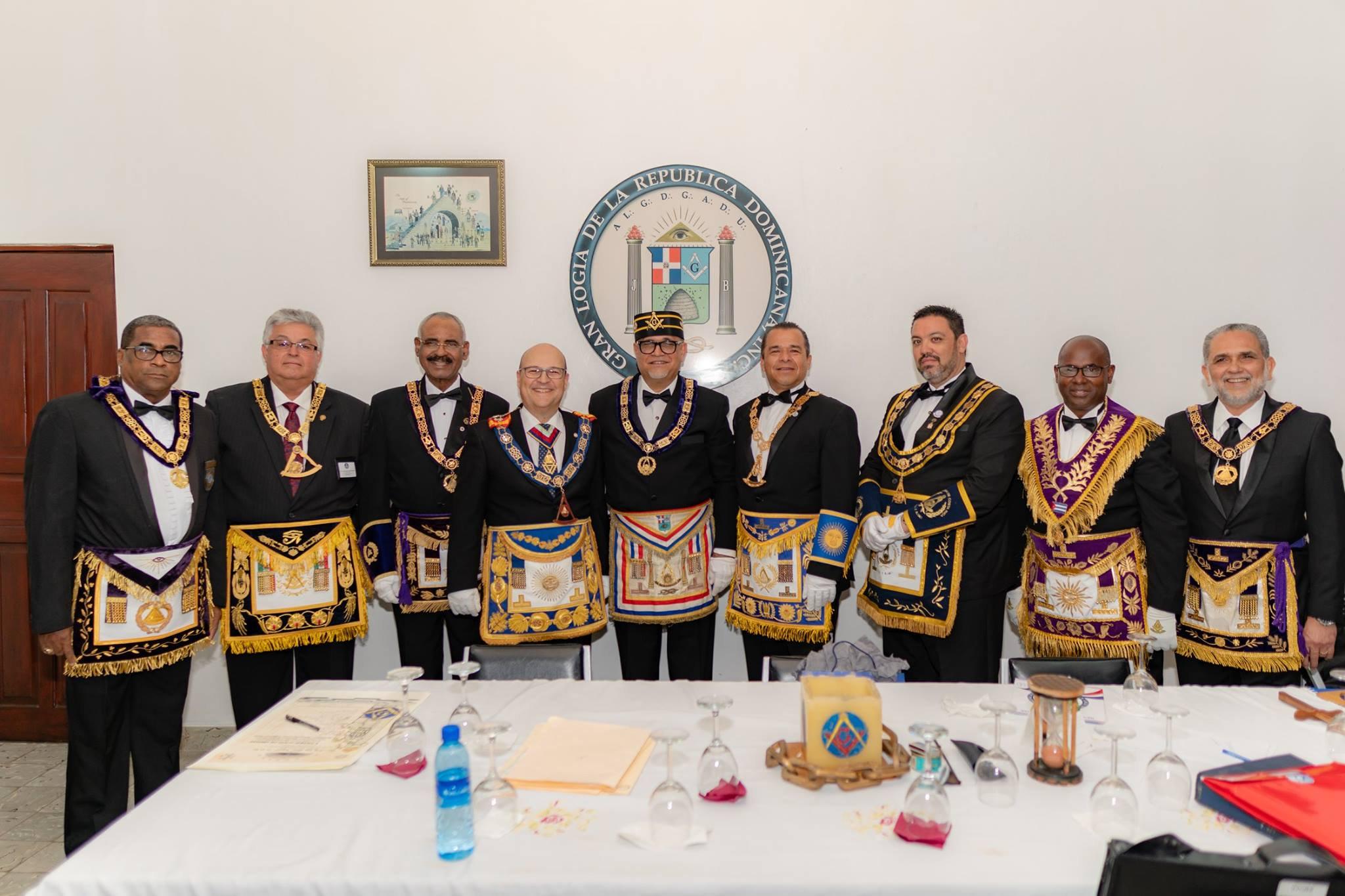 República Dominicana 161 años de masonería regular.
