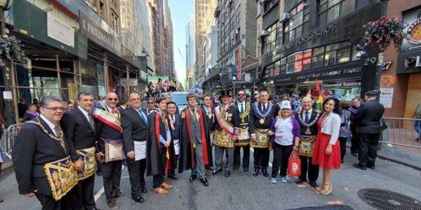 La Gran Logia de Nueva York ha acogido por primera vez una cumbre de la zona primera de la Confederación Masónica Interamericana.
