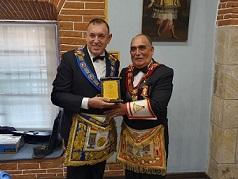 Gran Maestro del Perú participa de la conmemoración del 90 Aniversario de la Gran Logia de Bolivia.